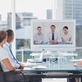 media-as Videokonferenz
