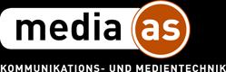 Logo media-as negativ